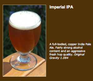 Imperial IPA...the Alpha King!
