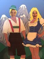 Oktoberfest revelers