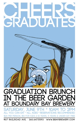 graduation brunch Boundary Bay Brewery