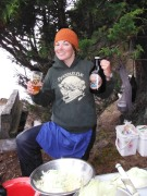 Sarah, our Kayak guide and chef!